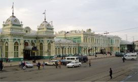 Irkutsk on the TransSiberian railroad